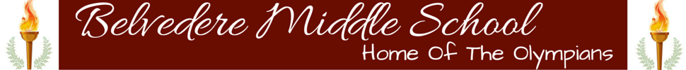 Belvedere Middle School  Logo